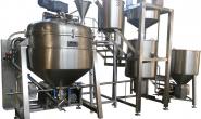 میکسر هموژنایزر تحت خلأ تولید کرمفیل و ژل (Cream filling)