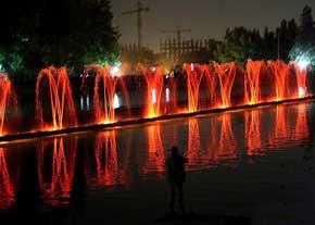 امکان سنجی ( طرح توجیهی ) درياچه موزيكال رقصان پارك ملت تهران