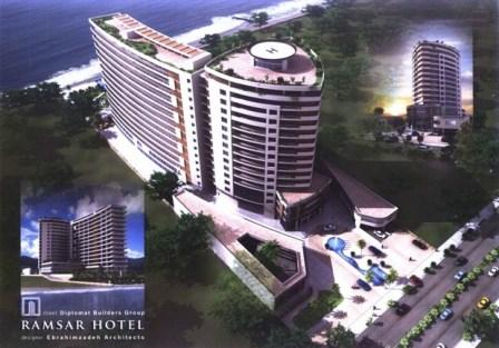 امکان سنجی( طرح توجیهی ) مجتمع تجاری و هتل 5 ستاره دیپلمات